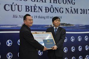 Nghiên cứu biển Đông thu hút sự tham gia của nhiều bạn trẻ