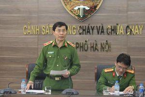 Cảnh sát PCCC Hà Nội thông tin chính thức vụ xe khách va chạm xe cứu hỏa