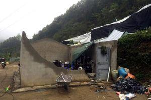Si Ma Cai (Lào Cai) 178 ngôi nhà bị tốc mái do mưa giông