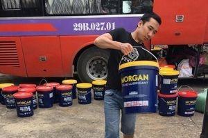 Nghệ An: Phát hiện hàng nghìn lít dầu nhớt không rõ nguồn gốc