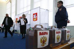 Người dân Nga đi bầu Tổng thống mới