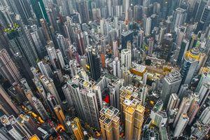 'Rừng' cao ốc ở thành phố thẳng đứng Hong Kong
