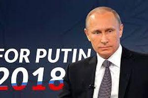 Bầu cử tổng thống ở Nga: Ông Putin thắng áp đảo ở vòng 1