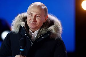 Ông Putin rạng ngời cảm ơn người ủng hộ