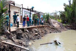 TP.HCM: Hơn 130 tỷ đồng xây kè chống sạt lở tuyến sông Rạch Tra