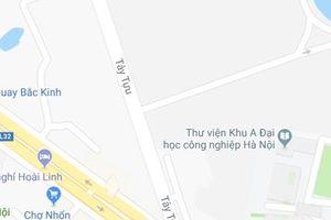 Hà Nội: Công an bị xe tải đâm khi giải quyết va chạm giao thông