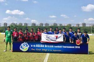 U15 PVF hủy diệt đội bóng Thái Lan ngay trên sân đối thủ