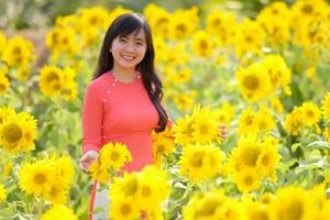 Hóa ra 'thiên đường hoa' dưới mặt đất là có thật ở Tiền Giang