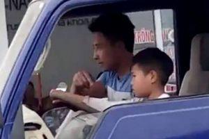 Vụ bé trai lái xe tải trên phố: Công an tăng hình phạt, chủ xe hối hận