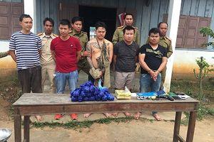 5 đối tượng người Lào đặc biệt nguy hiểm 'thủ' súng đi buôn ma túy