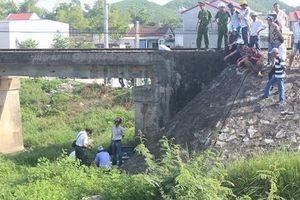 Huế: Phát hiện thi thể 2 nam thanh niên tử vong dưới chân cầu