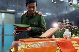 Xúc động lễ viếng tiễn biệt Thượng sĩ Chử Văn Khánh hi sinh khi làm nhiệm vụ