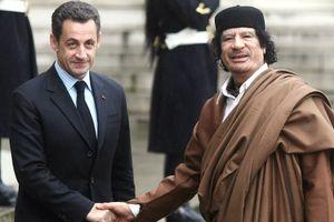 Pháp: Bắt cựu Tổng thống Sarkozy vì cáo buộc nhận tiền của cố Đại tá Gaddafi