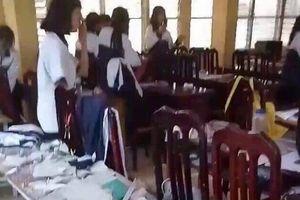 Hiệu trưởng nói gì sau vụ sập vữa trần phòng học khiến 3 học sinh nhập viện?