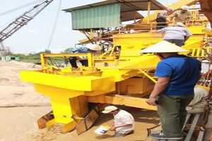 Doanh nghiệp Cần Thơ 'biến' cát nhiễm mặn thành cát sạch
