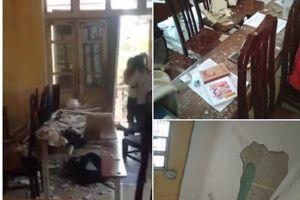 Sở GDĐT Hà Nội chỉ đạo 'nóng' vụ sập trần ở THPT Trần Nhân Tông