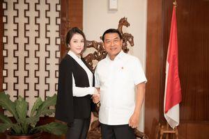 Lý Nhã Kỳ được tiếp đón tại Phủ Tổng thống Indonesia