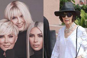 Đỉnh cao Photoshop: Bà ngoại U90 nhà Kardashian trẻ hóa và 'nóng bỏng' thần kì