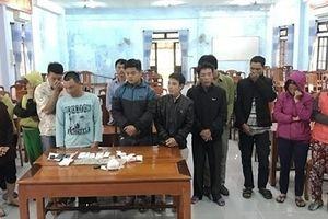Thừa Thiên - Huế: Liên tiếp bắt 2 ổ bạc bằng hình thức xóc đĩa
