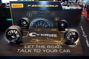 Lốp xe Pirelli có thể 'giao tiếp' với ôtô