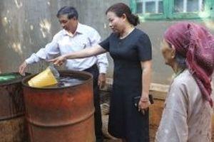 Nước giếng nóng lên bất thường là do nhiễm điện