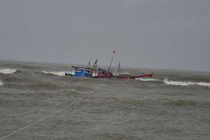 Kịp thời cứu tàu câu mực, cùng 47 thuyền viên gặp nạn trên biển