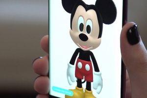 Chuột Mickey huyền thoại xuất hiện trong tính năng AR Emoji của Samsung