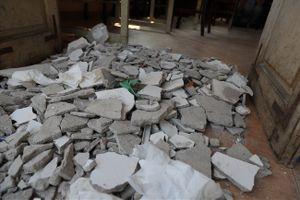 Vụ sập trần tại trường THPT Trần Nhân Tông: Ba em học sinh đã xuất viện