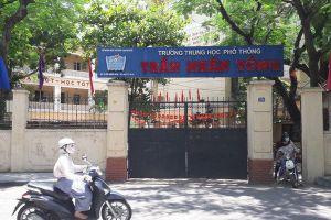 Chuyển toàn bộ học sinh sau vụ sập vừa trần ở trường Trần Nhân Tông