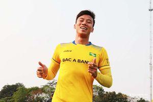 Cầu thủ SLNA hào hứng trước trận Than Quảng Ninh