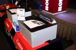 Canon giới thiệu 4 máy in phun dòng G và 2 máy in laser mới