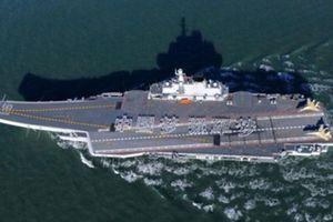 Trung Quốc đưa tàu sân bay đến eo biển Đài Loan