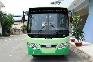 Bố trí xe bus để người dân tiễn đưa cố TT Phan Văn Khải