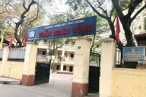 Thầy trò Trường THPT Trần Nhân Tông nhanh chóng ổn định dạy học tại địa điểm mới