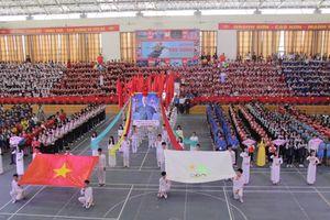 Nghệ An: Hơn 2.000 vận động viên tham dự Hội khỏe Phù Đổng 2018