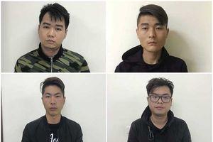 Bắt 4 thanh niên Trung Quốc đánh cắp thông tin, dùng thẻ ATM giả rút tiền