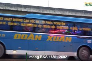 Nhà xe Đoàn Xuân ngang nhiên 'lập bến' giữa đường, Thanh tra giao thông quận Thanh Xuân ở đâu?