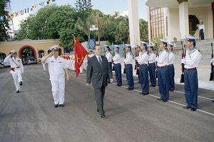 Dấu ấn của đồng chí Phan Văn Khải với công tác quốc phòng