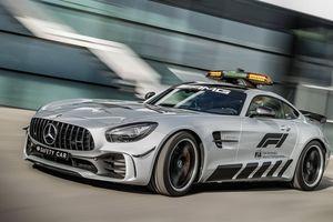 Mercedes AMG GT-R sẽ tham gia mùa giải F1 2018 ở vị trí xe an toàn