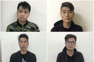 Khởi tố 4 người Trung Quốc dùng thẻ ATM giả để rút tiền