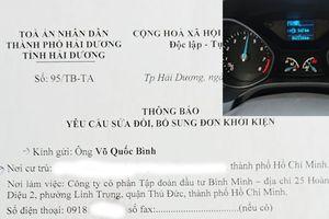 Khách hàng kiện Ford Việt Nam vì lỗi hộp số: Tòa yêu cầu sửa đổi, bổ sung đơn khởi kiện