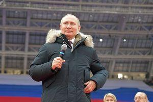 Tổng thống Nga đã chi bao nhiêu cho chiến dịch tái tranh cử?