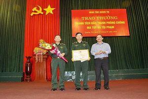 Khen thưởng Ban chuyên án triệt phá đường dây ma túy lớn nhất tại Quảng Trị