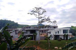 Lương Sơn, Hòa Bình: Hàng loạt dự án nghỉ dưỡng, resort sai phạm