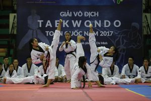 ĐT quyền taekwondo Việt Nam: Quyết tâm giải cơn khát vàng ở ASIAD 18