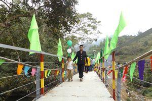 Thêm một 'cầu nối yêu thương' khánh thành ở Cao Bằng
