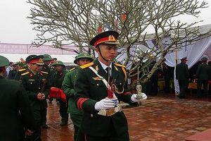 An táng 21 hài cốt liệt sỹ tại Quảng Trị