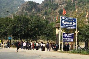 Ninh Bình: Hàng trăm hộ dân ngăn cản việc cắm biển cấm tại Khu du lịch Tràng An cổ