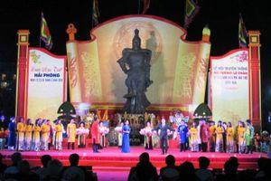 Hải Phòng: Khai mạc Lễ hội truyền thống Nữ tướng Lê Chân năm 2018