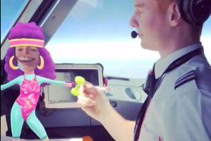 Anh: Đình chỉ phi công chơi game chụp ảnh ở độ cao 9.000 m